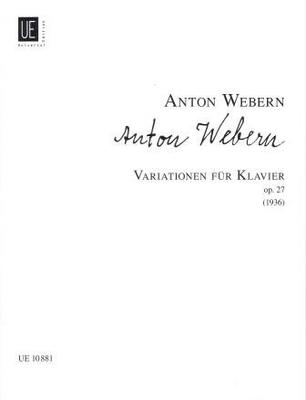 Variations op. 27 / Webern Anton von / Universal Edition