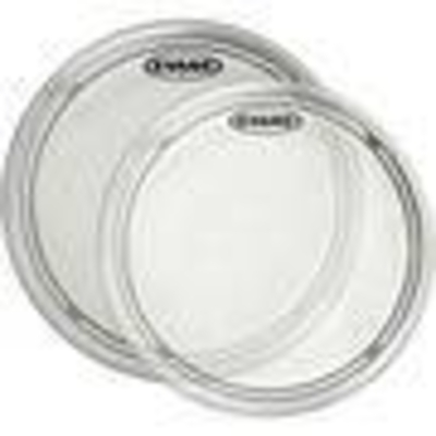 Evans B12EC1 EC1 Tom with edge control ring 12» simple ply Coated