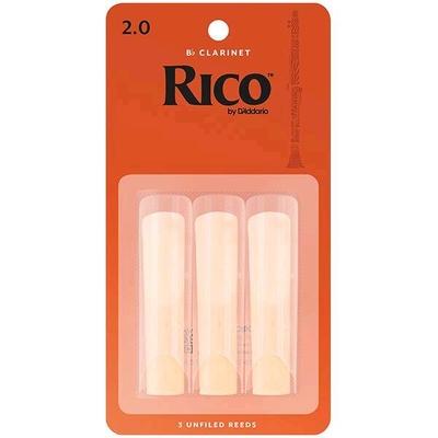Rico Clarinette sib 2 Box 3 pc