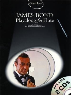 Guest Spot: James Bond Playalong For Flute / Hussey, Christopher (Arranger) / Wise Publications