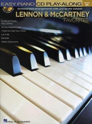 Easy Piano CD Play-Along Volume 24: Lennon And McCartney Favourites / Beatles, The (Artist); Lennon, John (Artist); McCartney, Paul (Artist) / Hal Leonard