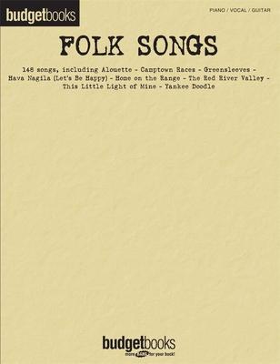 Budgetbooks / Budgetbooks, Folk Songs /  / Hal Leonard
