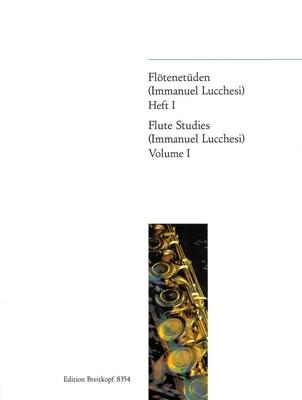 Etudes pour flûte Vol. 1 / Lucchesi Immanuel / Breitkopf