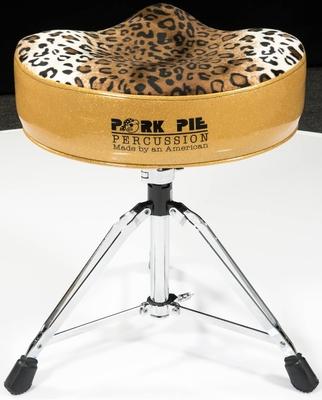 Pork Pie Siège partie supérieure léopard