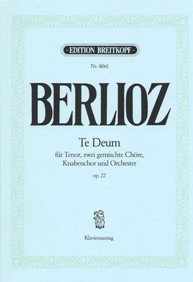 Te Deum / Berlioz Hector / Breitkopf
