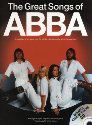 The Great Songs Of Abba (Book/CD) / Abba (Artist) / Wise Publications