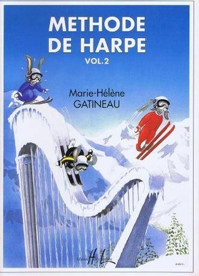 Méthode de harpe débutants Vol. 2 / Gatineau Marie Hélène / Henry Lemoine