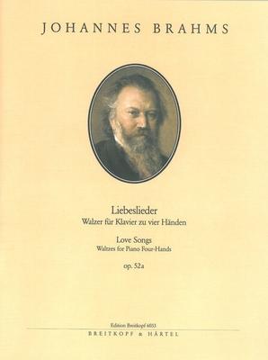 Liebeslieder Opus 52A / Brahms Johannes / Breitkopf