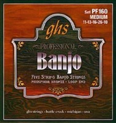 GHS Set jeu 6 Cordes Banjo