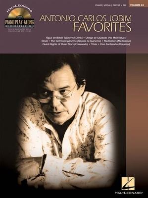 Piano Play-along / Piano Play-Along Volume 84: Antonio Carlos Jobim / Jobim, Antonio Carlos (Artist) / Hal Leonard