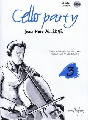 Cello party, vol. 3 / Allerme Jean Marc / Henry Lemoine