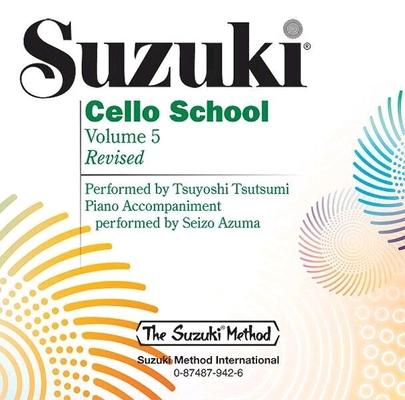 Suzuki Cello School vol. 5 le CD / Suzuki Shinichi / Alfred Publishing