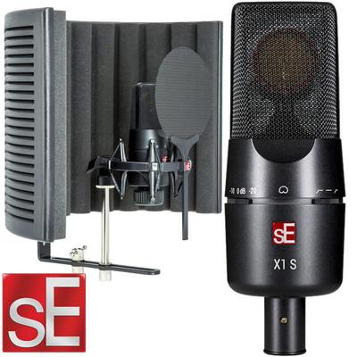 SE Electronics Microphone Studio Bundles sE-X1S Studio Bundle sE-X1S+sE-RFX+Cable+POP Bundle