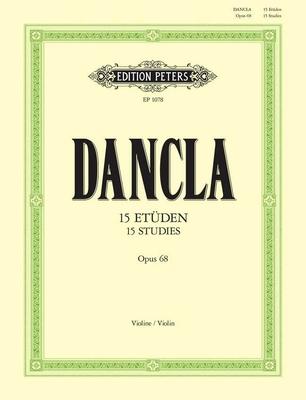15 études op. 68 / Dancla Charles / Peters