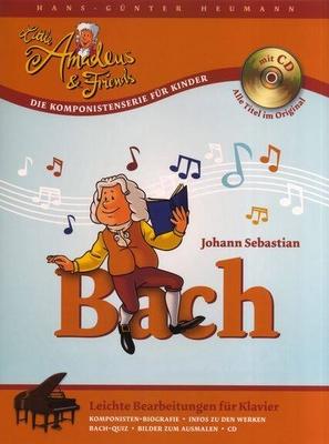 Little Amadeus & Friends / Hans-Günter Heumann: Little Amadeus Und Friends – Johann Sebastian Bach / Bach, Johann Sebastian (Composer); Heumann, Hans-Günter (Author) / Bosworth