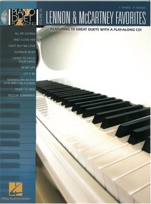 Lennon And McCartney Favourites, Piano Duet Play-Along Volume 38 / Beatles, The (Artist); Lennon, John (Composer); McCartney, Paul (Composer) / Hal Leonard