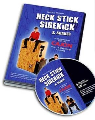 Schlagwerk Percussion Cajon -Heck Stick Sidekick & Shaker