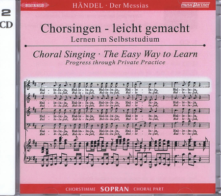 Messie – CD de travail Soprano / Georg Friedrich Händel / Peters