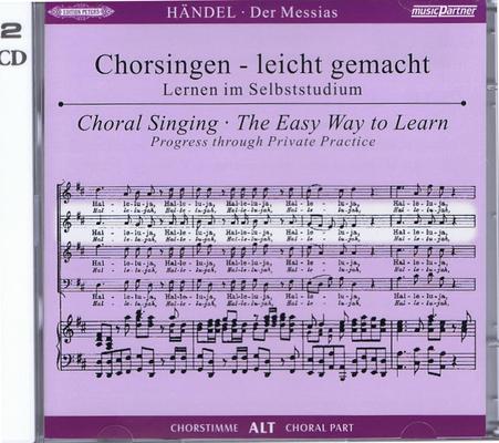 Messie – CD de travail Alto / Georg Friedrich Händel / Peters