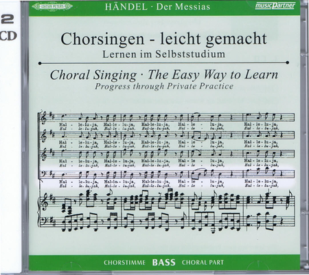 Messie – CD de travail Basse / Georg Friedrich Händel / Peters