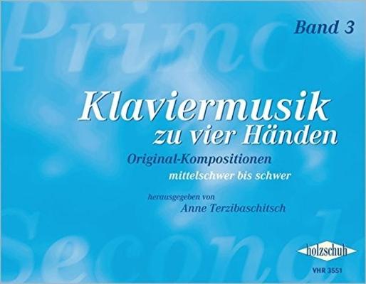 Klaviermusik zu vier Händen Band 3 /  / Holzschuh