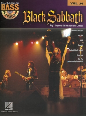 Bass Play-Along / Bass Play-Along Volume 26: Black Sabbath / Black Sabbath (Artist) / Hal Leonard