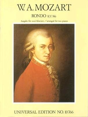 Rondo KV 382 / Mozart Wolfgang Amadeus / Universal Edition
