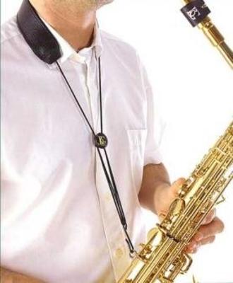BG S20M Sangle en cuir pour saxophone alto et ténor, crochet