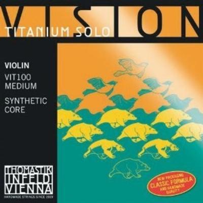 Thomastik Vision Titanium Solo 4/4 jeu complet