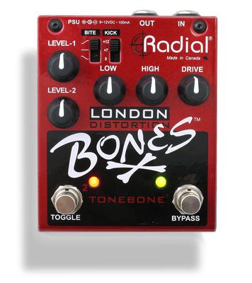 Tonebone Bones Series London Dual Distortion Plexi