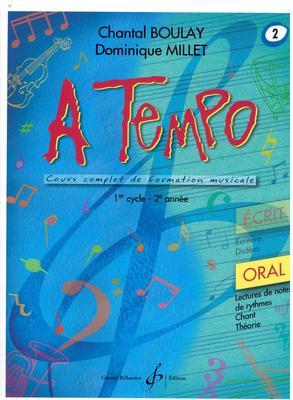 A Tempo Vol. 2 Oral / Boulay Chantal / Millet Domin. / Billaudot