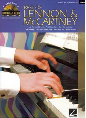 Piano Play-along / Piano Play-Along Volume 96: Best Of Lennon And McCartney / Beatles, The (Artist); Lennon, John (Composer); McCartney, Paul (Composer) / Hal Leonard