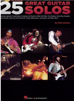 Chad Johnson: 25 Great Guitar Solos / Johnson, Chad (Author) / Hal Leonard