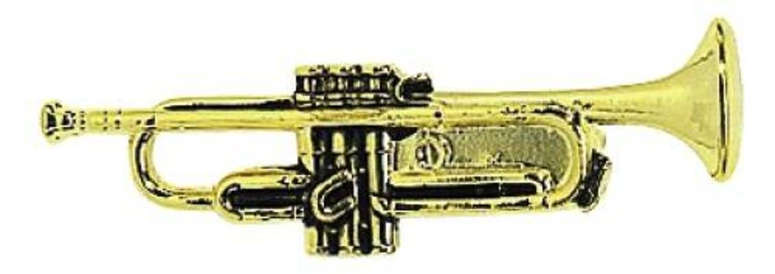 Gewa Pin's trompette gold