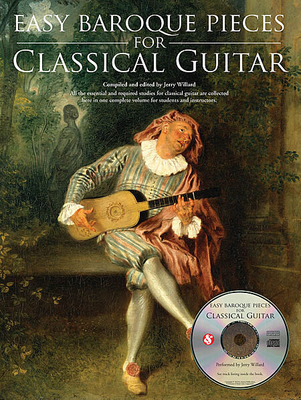 Easy Baroque Pieces For Classical Guitar / Willard, Jerry (Editor) / Amsco Publications