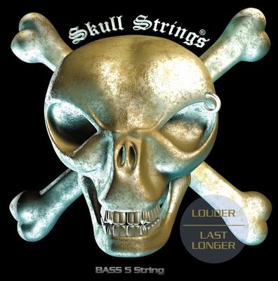 Skull Strings SKU-B5 Stainless Steel Long Scale 045-135