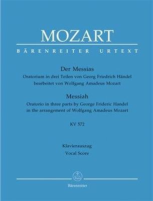 Le messie arrangé par Mozart réduction pour chant et piano  / Georg Friedrich Händel / Bärenreiter