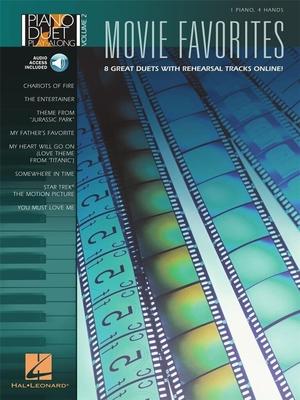 Piano Play-along / Piano Duet Play-Along Volume 2: Movie Favourites /  / Hal Leonard