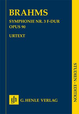 Symphonie no 3 op. 90Symphonie Nr.3 F-Dur Op.90 / Brahms Johannes / Henle