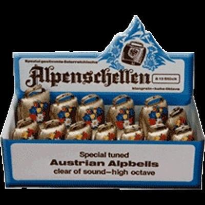 Alpenschellen Jeu de 13 cloches des montagnes (C à C)