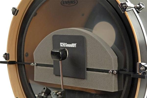 Evans SoundOff Bassdrum mute 18, 26»