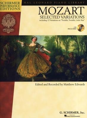 W.A. Mozart: Selected Variations / Mozart, Wolfgang Amadeus (Composer) / G. Schirmer