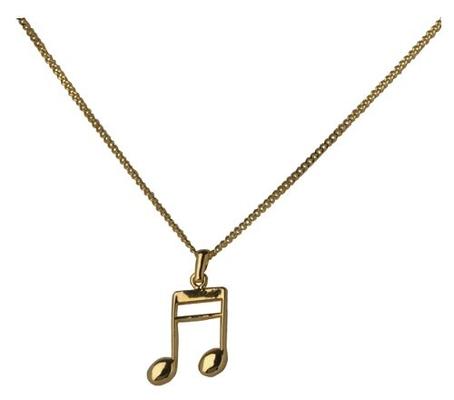 Gewa Pendentif en forme de deux notes de musique