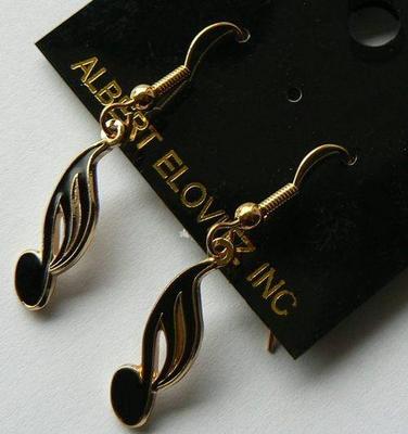 Gewa Boucles d'oreilles en forme de note