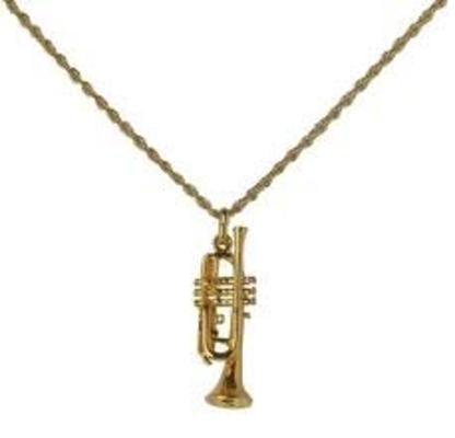 Gewa Pendentif en forme de trompetteFinition »dorée»