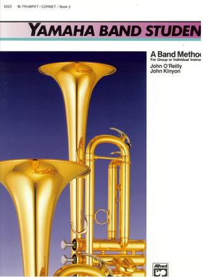 Yamaha band student, vol. 3 / Feldstein S./O'Reilly J. / Alfred Publishing