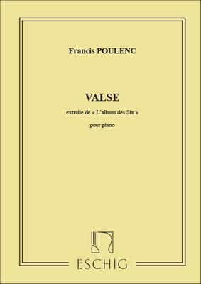 Valse Piano (Extrait De L'Album Des Six ) / Francis Poulenc / Eschig