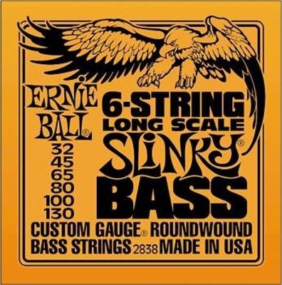 Ernie Ball 2838 Long Scale Slinky Custom 032-130