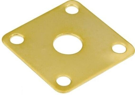 Schaller Plaque pour sortie jack, gold, style Les Paul