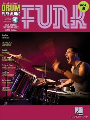 Drum Play-Along / Drum Play-Along Volume 5: Funk /  / Hal Leonard